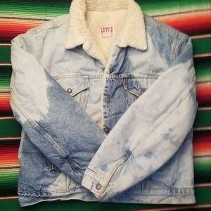 Levi wool jean jacket